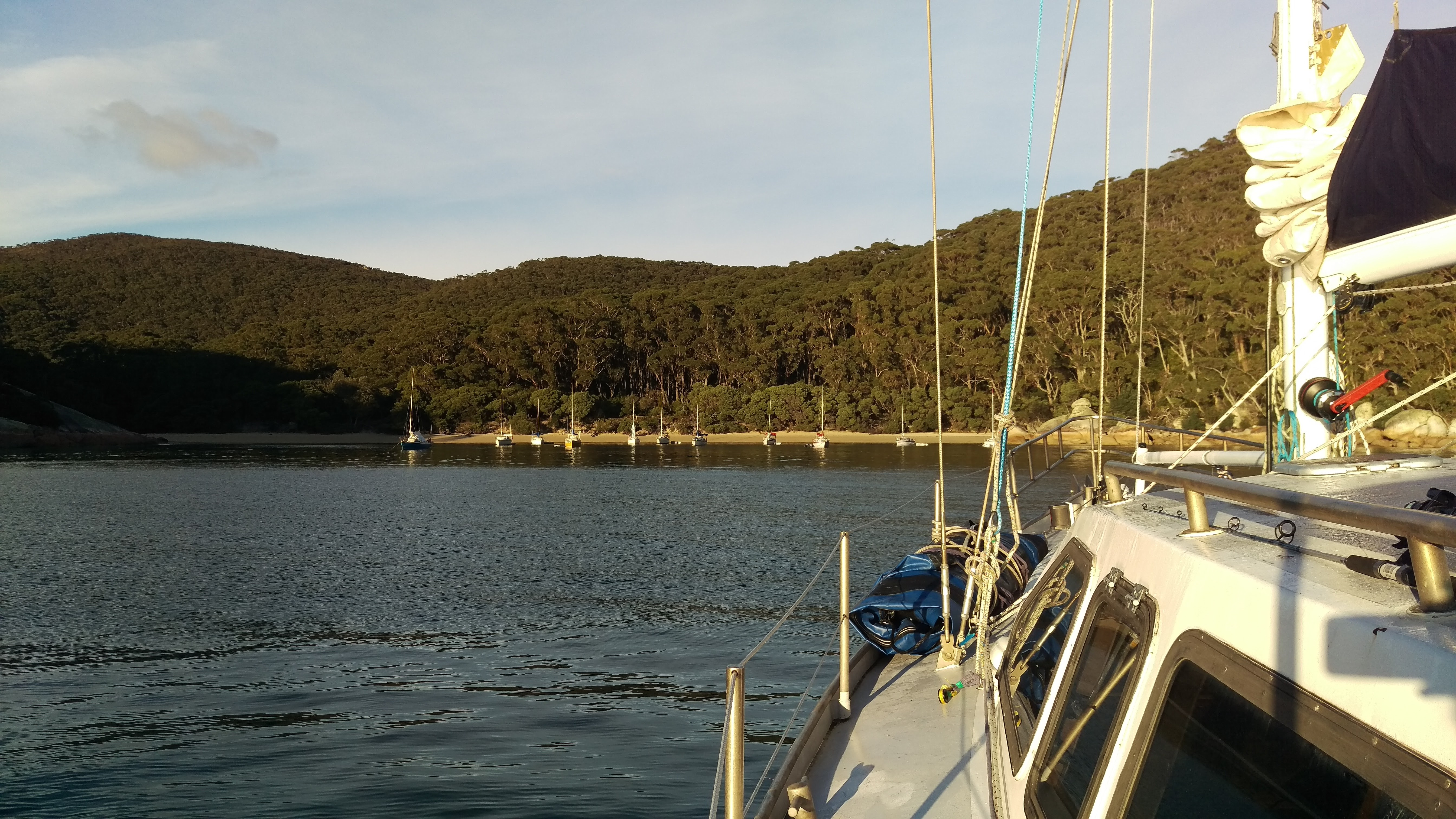 Anchorage at Refuge Cove