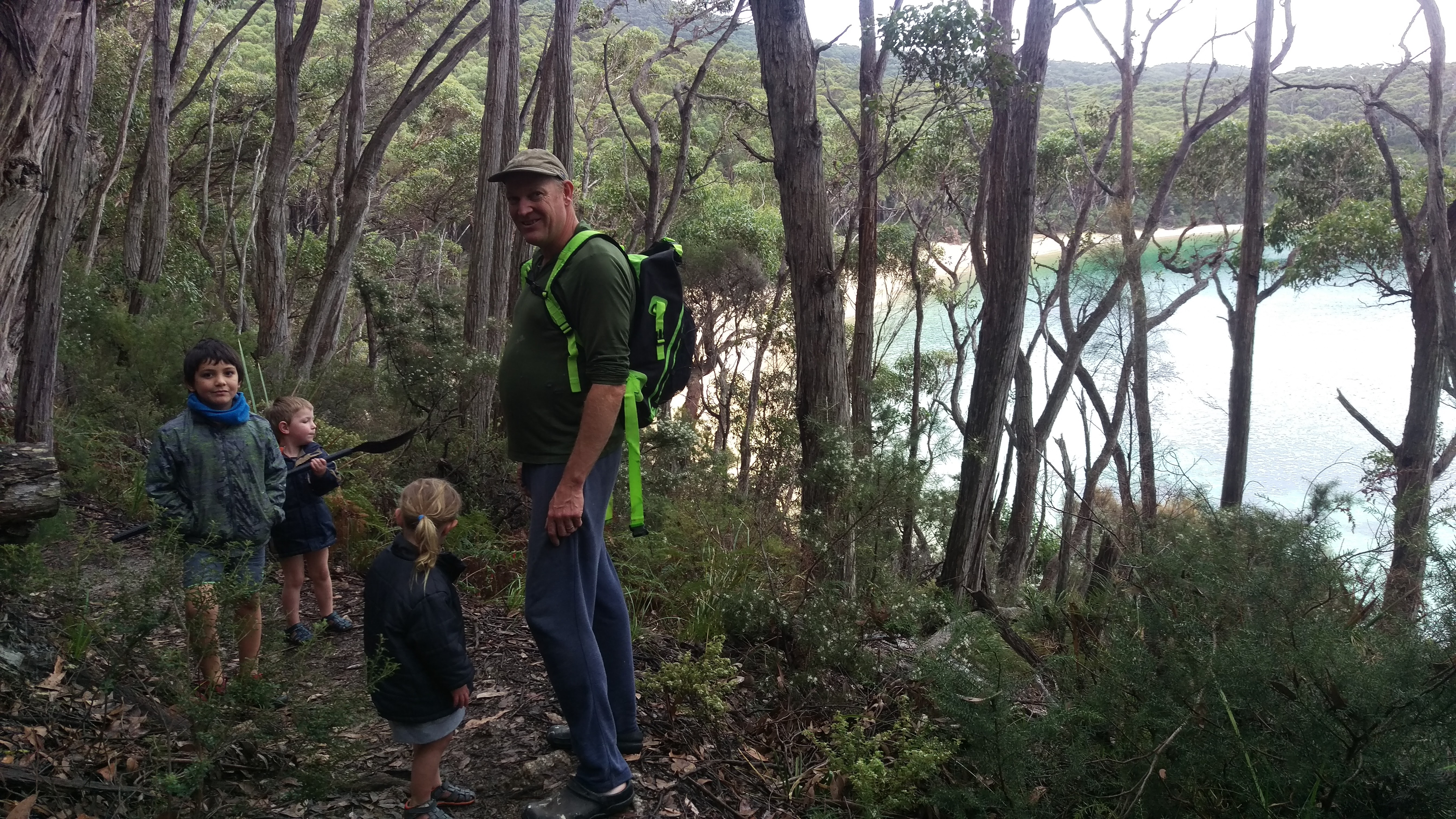 Walk at Refuge Cove